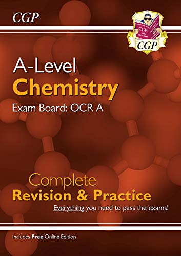 New A-Level Chemistry: OCR A Year 1 & 2 Complete Revision & Practice with Online Edition
