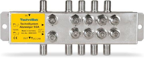 TechniSat 0000/3243Stoffhaube Schalterprogramm Silber (Stoffhaube)