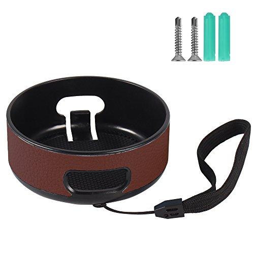 airsson Echo Dot Fall tragbar Schutz, der Hard Case Box für Amazon, völlig neue Echo Dot (zweiter Generation) mit Jighead Schraub carabiner-extra Raum für USB-Kabel