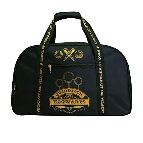 Harry Potter Gryffindor Quidditch in der schwarzen Reisetasche von Hogwarts Studio Kit Bag