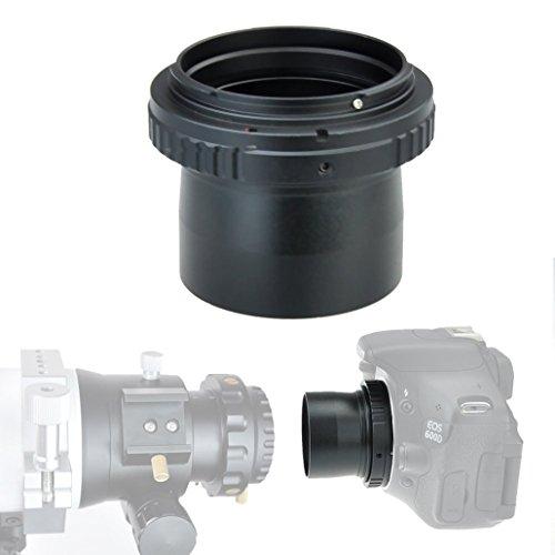 gosky 5,1cm Ultra Wide Teleskop Kamera Adapter für Nikon SLR/DSLR–bis 10mm groß, klar Blende–mit 5,1cm Filtergewinde (Große Blende Teleskop)