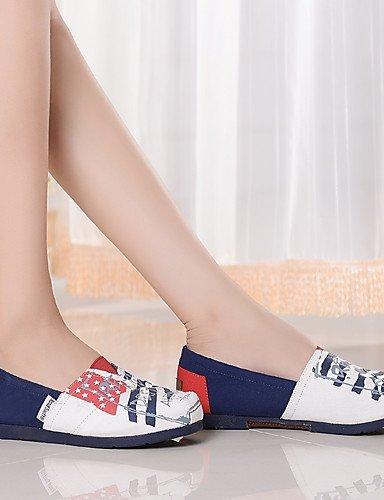 ShangYi Scarpe Donna - Mocassini - Casual - Comoda / Punta squadrata / Chiusa - Piatto - Di corda - Multicolore Multi Color