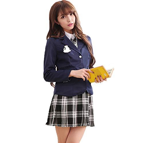 Hzd Japanische Seemann Schuluniform Kostüm Anime Cosplay Kleid Lolita Anzug mit Set - Us Marine Mädchen Kostüm