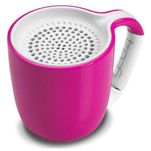 Gear4 Espresso Cup Portable Sans fil Universal 3.0 Haut-parleur Bluetooth (Rose)