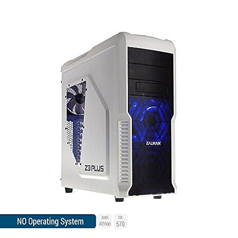 Sedatech PC Gamer Expert AMD Athlon II 860K 4x 3.70Ghz (max 4.0Ghz), Radeon RX570 4Go, 8Go RAM DDR3 1600Mhz, 1To HDD, USB 3.1, HDMI2.0, Résolution 4K, DirectX 12, Alim 80+. Unité centrale sans OS