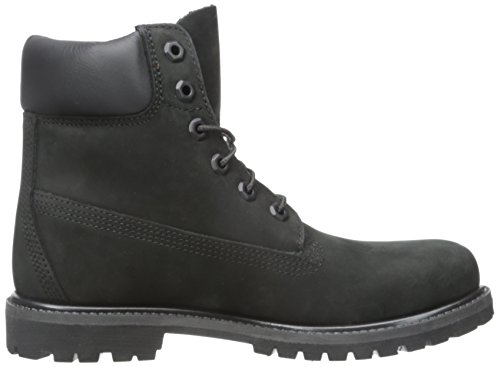 Timberland Womens 6-Inch Premium Leather Boots Nero