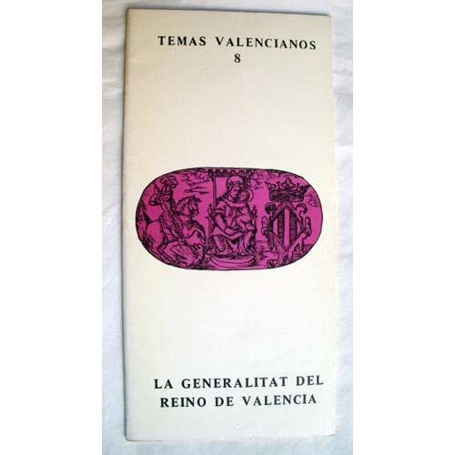 Generalitat del reino de Valencia,la