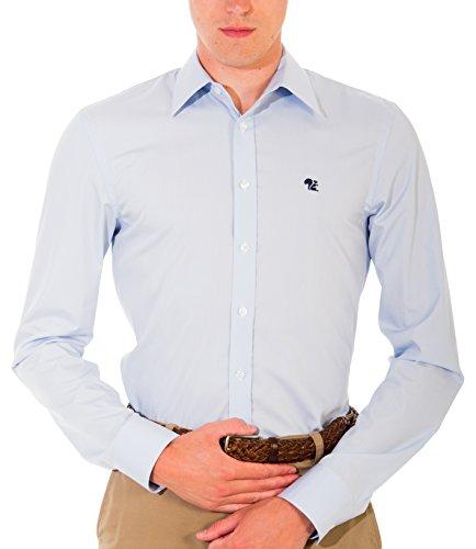 Bivolino -  Camicia Casual  - Classico  - Uomo Blu