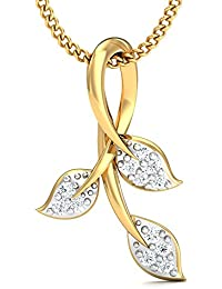 Stylori Zia Afluente 18k Gold and Diamond Pendant