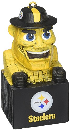 ot3824mas Pittsburgh Steelers Maskottchen Ornament ()