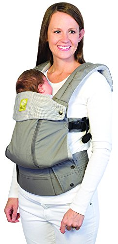 LÍLLÉbaby  Complete All Seasons 6-in-1 Baby Carrier, Stone Lillebaby With a temperature regulating breathable panel that unzips to encourage airflow in warm conditions and 6 carrying positions - Foetal, infant inward, outward, toddler inward, hip, back - The only carrier you'll ever need! Suitable from 3.2- 20kg (birth to approx. 4 years old), providing extended comfortable use for parent and child with no additional infant support required for new-borns - the ergonomic adjustable seat is acknowledged as 'hip-healthy' by the International Hip Dysplasia Institute Unique spacious head support with elasticated straps - soothes infants with gentle lulling motion and provides excellent support as children grow 2