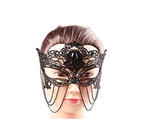 SCLMJ Elegante Augen Gesichtsmaske Maskerade Ball Karneval Tanzparty Schöne Maske Kleid Kostüm