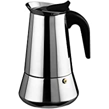 Cuperinox - Cafetera Espresso en Acero Inoxidable - Plata - 2 Tazas