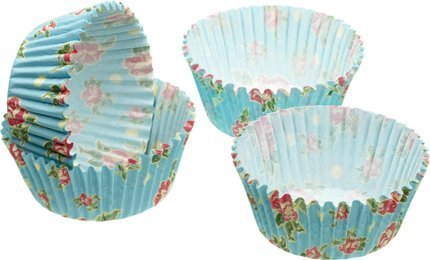 Rose Vintage Cupcake Cases