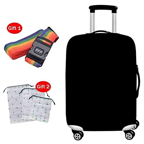 Suitcase Cover Kofferabdeckung Normallack-Starke haltbare wasserdichte Staubschutz-Zugstange-Kasten-elastische atmungsaktive Schutzabdeckung für 18-32 Zoll,5,M