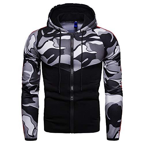Shirt Corde Respirant Osyard À Sweat Blouson T Camouflage A Veste Vêtements Zipper Chemisier Capuche Homme Capuchon eW29YbDEHI