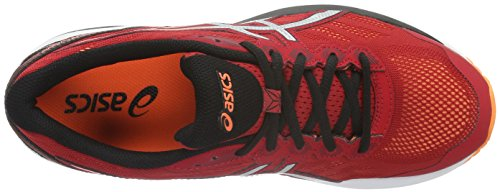Asics Herren Gt-1000 5 Laufschuhe Rot (true Red/silver/hot Orange)