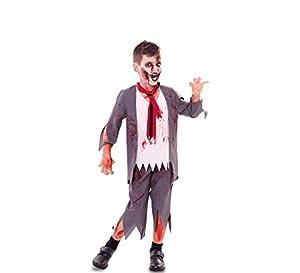 Fyasa Disfraz de colegiala zombie 706527-T01, tamaño mediano