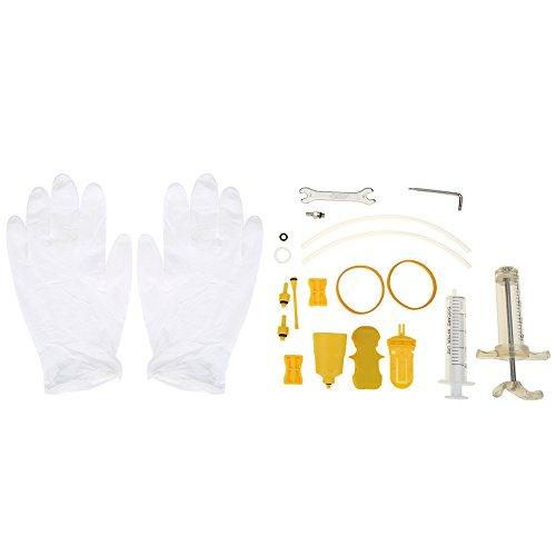 Kit Profesional de Purgas de Frenos para Shimano Magura Tektro - Bleed Kit Herramienta para Frenos de Disco Hidráulicos