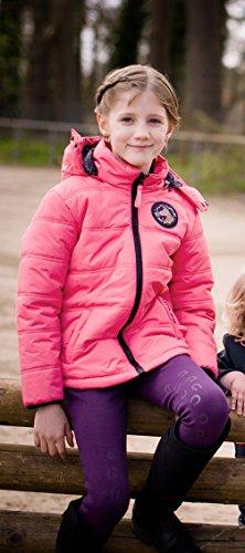 Kinder Wendejacke Champ Little Sister pink/dunkelblau 110/116