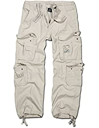 Hose Brandit Pure Vintage Trouser old white