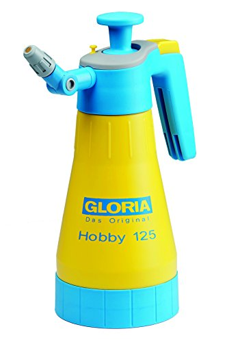 GLORIA Hobby 125 Drucksprühgerät 1,25L mit 360° Funktion und Gelenkdüse