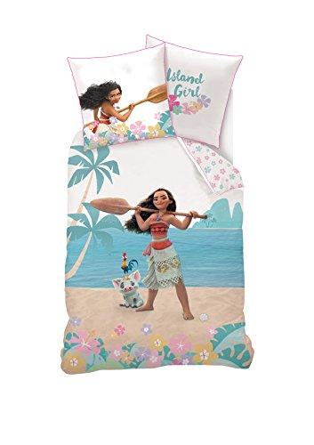 Die Beste Disney Bettwäsche Vaiana Bettbezug Und Kissenbezug