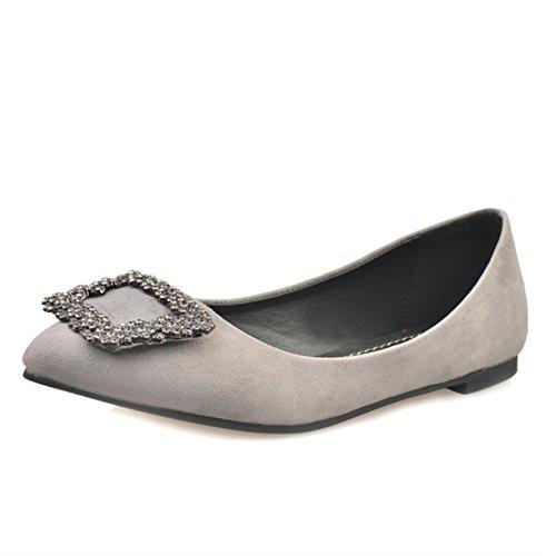 À la mode pointus chaussures/Plats/Version coréenne de douces belles chaussures C