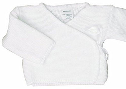 f1c903ec2c90 BRASSIERE maternité bebe, idee cadeau naissance, uni cache coeur (0 mois,  blanc