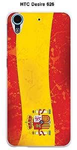 Coque Drapeau Espagne vintage pour HTC Desire 626