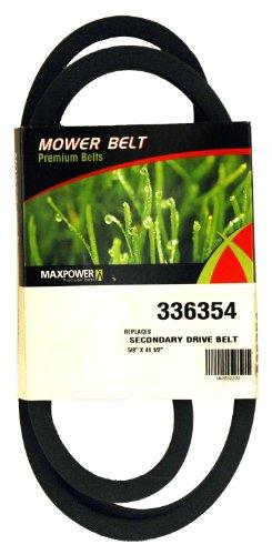 MaxPower 336354Cinghia di trasmissione secondaria per MTD 754-0468, 954-0468