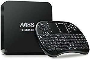 [Free Wireless Mini keyboard]Tonbux® M8S Ultra 4K Smart TV Box Mini PC Streaming Media Player with KODI(XBMC) , 2GB RAM+ 8GB ROM, Fully Loaded,Google Android 4.4, Amlogic S812, 2.0 GHz,Dual channel WIFI