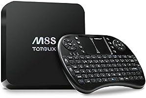 [Free Wireless Mini keyboard]Tonbux® M8S Ultra 4K Smart TV Box Mini PC Streaming Media Player with KODI(XBMC) , 2GB RAM+ 8GB ROM, Fully Loaded,Google Android 4.4, Amlogic S812, 2.0 GHz,Dual channel WIFI