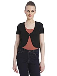 VERO MODA Womens Shrug (10109450_Black_XS)