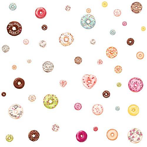 Donut Aufkleber Kinderzimmer Aufkleber Weihnachtsschmuck Home Dekorationen Donuts (Größe Weihnachtsschmuck Leben)