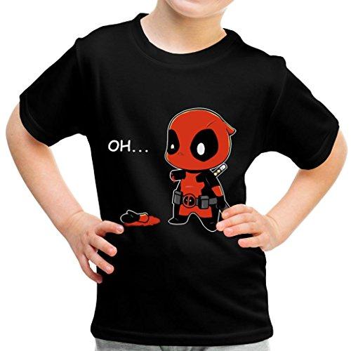 Chibi Deadpool Oh Kid's T-Shirt