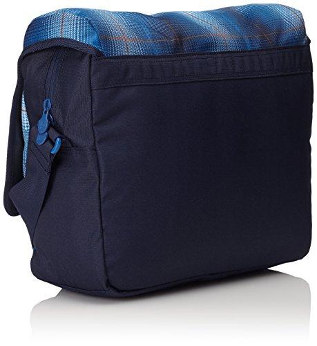 Chiemsee Borsa a tracolla unisex borsa da Shoulderbag, Messenger Bag, Borsa Plaid Blazing, Unisex, Umhängetasche Shoulderbag, Great Checker, 39 x 13 x 28 cm, 15 Liter Plaid Regatta