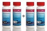 2 x Natriumchlorit 25% + Salzsäure 4% Ph.Eur. Set 2x100ml zum Mega-Preis! In HDPE Flaschen mit Tropfer.