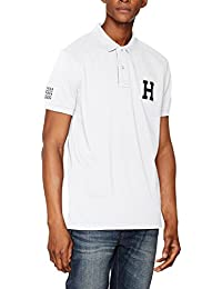 Tommy Hilfiger Es Basic Badge S/S Rf, Polo Homme
