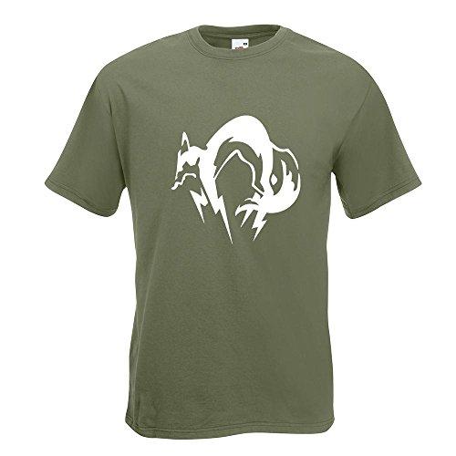 KIWISTAR - Fox Hound T-Shirt in 15 verschiedenen Farben - Herren Funshirt bedruckt Design Sprüche Spruch Motive Oberteil Baumwolle Print Größe S M L XL XXL Olive