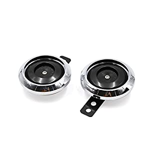 Sourcingmap® 2stk DC 12V 1,5A 105DB Doppel Schall Stärke Motorrad elektrischer Lautsprecher DE de