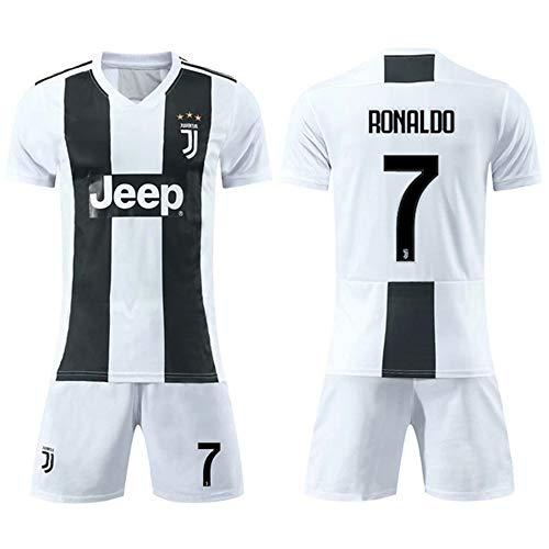 MalataMall Football Sportswear, Real Madrid Jersey, No. 7 C Ronaldo, Children's Soccer Uniform (Real Lange ärmel Jersey Madrid)