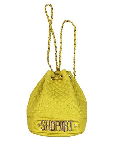 Secchiello in semilpelle trapuntata Shop Art giallo