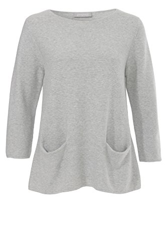 Passport - Sweat-shirt - Femme Gris clair chiné