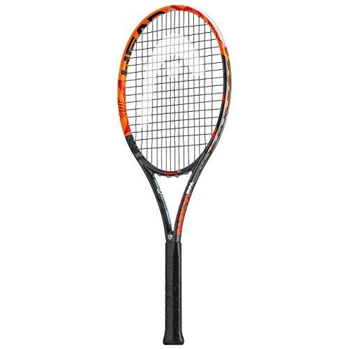 HEAD 230226-U Graphene XT Radical Raquette de Tennis Orange/Noir/Rouge Taille 30