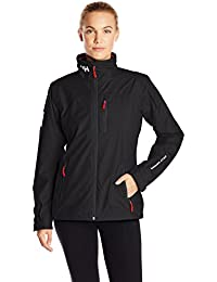 Helly Hansen W Crew Chaqueta Deportiva, Mujer, Black, X-Small
