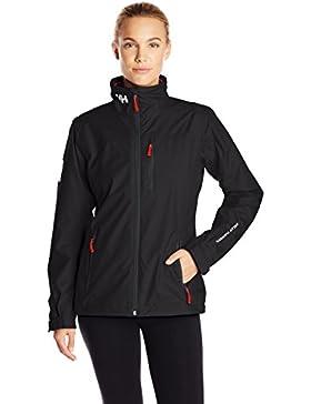 Helly Hansen W Crew Midlayer Jacket, Chaqueta para Mujer, Negro (Black 990), Medium