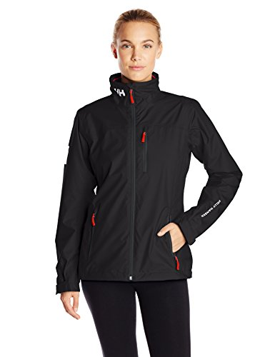 Helly Hansen W Crew Midlayer Jacket, Chaqueta para Mujer, Negro (Black 990), Medium