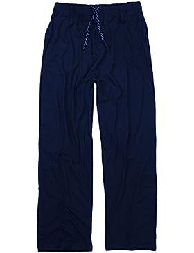 Lange Schlafanzughose - Pyjamahose in großen Größen bis 10XL in dunkelblau