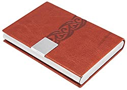 7Trees PU Leather Visiting Card Holder with Magnetic Closure (Design-3559)